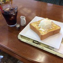 美味しいハニートースト