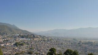 麗江古城の端っこ