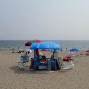 知多半島最大の海水浴場