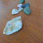 ヒスイの原石が拾えました