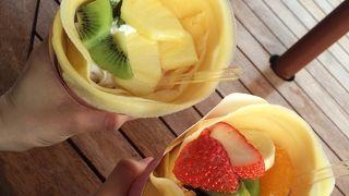 百果園 果物をふんだんに使った、コスパの高い望外なクレープ