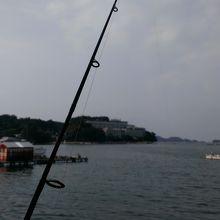 釣りをしている時の雰囲気です