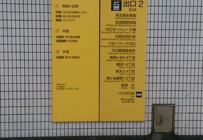 南鳩ケ谷駅