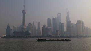 上海の中心地