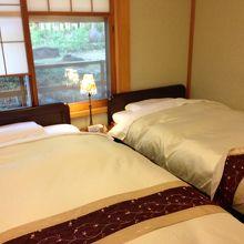 唯一の和室の部屋 ベッドも畳ベッド