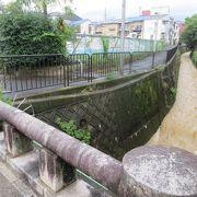 台風11号により竜門橋を流れる瀬戸川も濁流が。