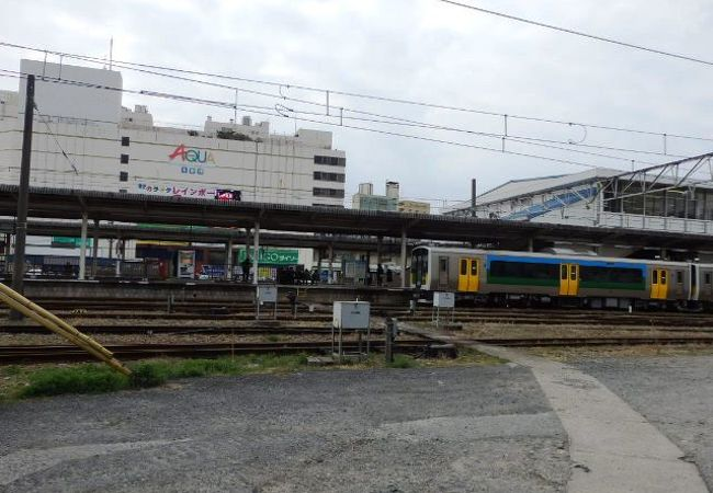 木更津市の中心駅としては少し寂しい木更津駅(きさらづえき)
