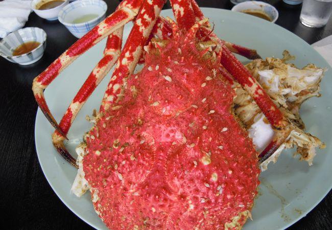 タカアシガニを食べる!!