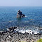 ここも海がきれいに見える最高のスポット