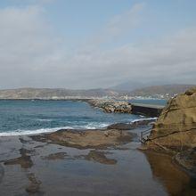 かもめ島からの風景です