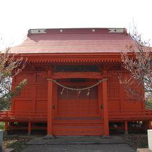 島内の神社の様子です