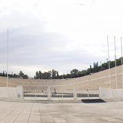 こちらが近代オリンピック競技場の元祖(パナティナイコ スタジアム )