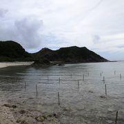 島内ドライブの南端