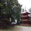 名草神社 三重塔