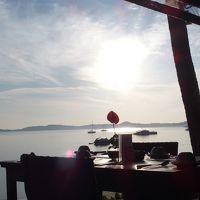 朝食会場からの眺めです。