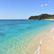 奄美の中でも最高に美しい海!