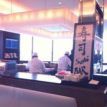 成田空港のJALファーストクラスラウンジで寿司バーがオープンしました