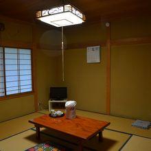 少し広めの和室です。