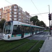 18-19-20-12-13-14-15区をパリ市の境界線に沿って結ぶトラムT3号線