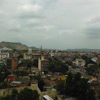 最上階の北東側角部屋だったので、ジャイプール市内と、タイガー