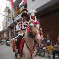 たまたまやってた、祭りのパレード