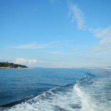 船からの景色
