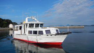 詫間と志々島・粟島を結ぶ船ですが、詫間の港は2つあります