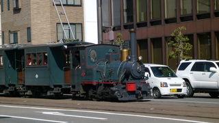 かわいい列車です