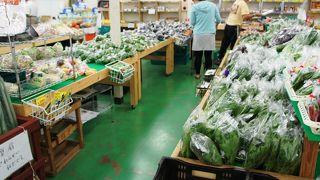 帰国組に直売店の新鮮野菜
