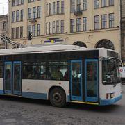 初心者にも利用可、便利なトローリーバス