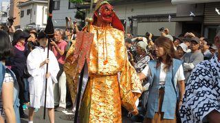 鎌倉神楽 面掛行列