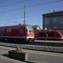 ミュンヘンからローテンブルグの途中駅