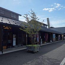 道の駅「氷見」は「ひみ番屋街」となりました。