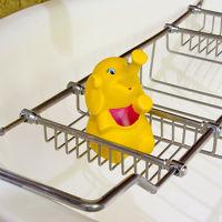 バンコクのコンラッドらしく、お風呂のおもちゃも象さん。