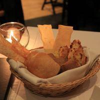 夕食のパン