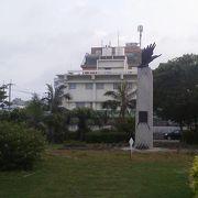 離島ターミナルの前にある「美崎公園」~石垣~