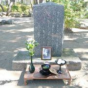 「食道楽」の人、村井弦斎の住居跡でのお祭り