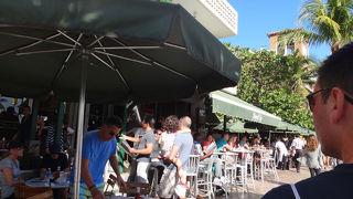 サウスビーチの人気のカフェ