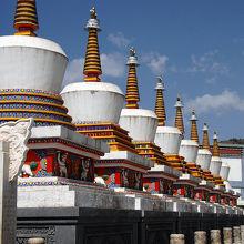 チベット佛教の聖地・塔爾寺(タール寺)