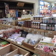 秋田空港のお土産店