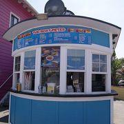 かわいいVillageにあるカワイイ軽食スタンド