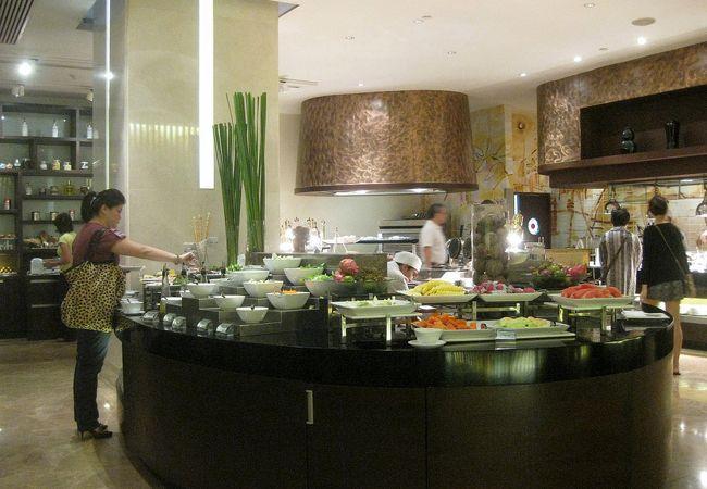 観光の合間に食事をする場所としては最高です