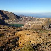 刈田岳山頂へ