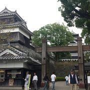 熊本城の入り口