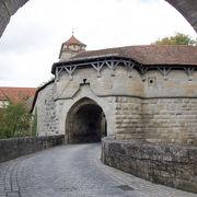 ローテンブルクの入り口