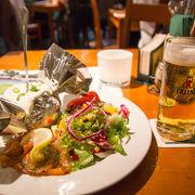 地ビールとドイツ料理