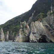 日本屈指の海岸美(青海島)