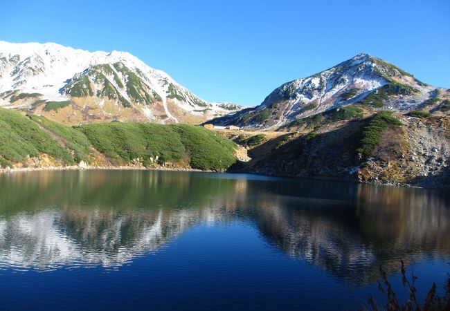 立山三山の雄山と浄土山