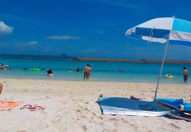 水納島 ハマサキビーチ