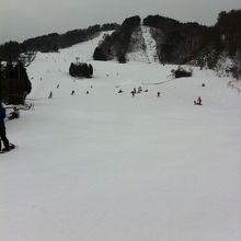広島にある定番のスキー場